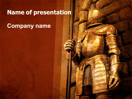 Knight Armor Presentation Template For Powerpoint And Keynote
