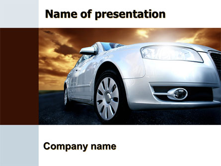 Open Road Presentation Template, Master Slide