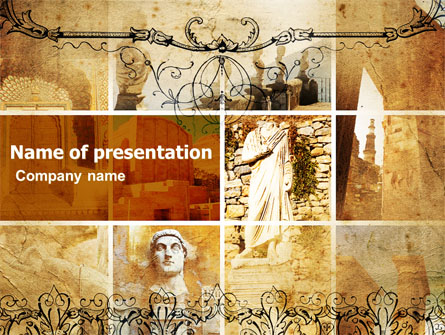 roman architecture presentation template for powerpoint and keynote
