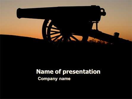 Alamo Sunset Presentation Template, Master Slide