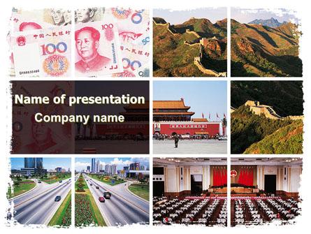 China Presentation Template, Master Slide