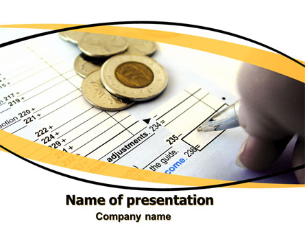 Budget Presentation Template For Powerpoint And Keynote Ppt Star