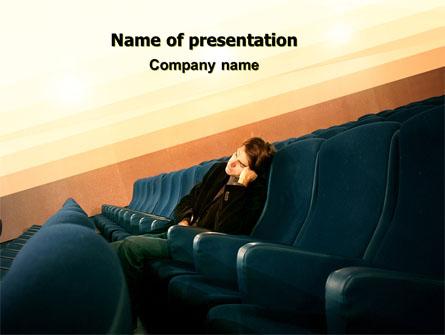 Boring Movie Presentation Template, Master Slide