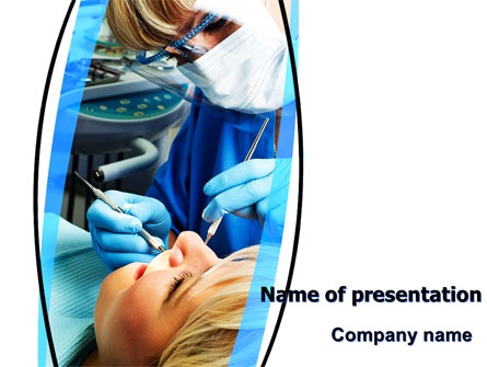 Dental Surgery Presentation Template, Master Slide