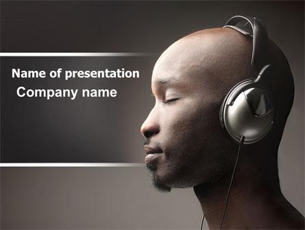 Easy Listening Presentation Template, Master Slide