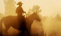 Cowboy Rider Presentation Template