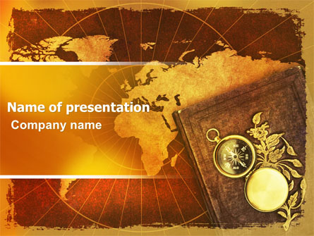 historical exploration presentation template for powerpoint and