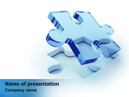 Blank Jigsaw Presentation Template For Powerpoint And Keynote Ppt Star
