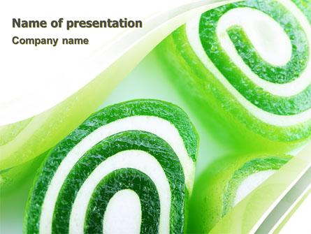 Jelly Candy Presentation Template Master Slide
