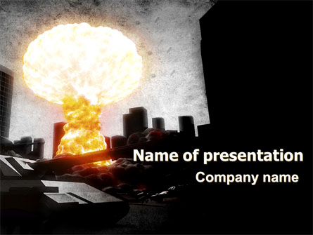 Post-Apocalypse Presentation Template, Master Slide