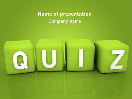 Quiz Presentation Template For Powerpoint And Keynote Ppt Star