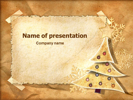 new year theme presentation template master slide