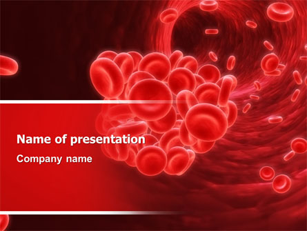 Powerpoint Design Template White Blood Cells