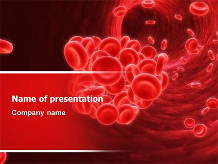 Blood clot presentation template for powerpoint and keynote ppt star blood clot presentation template master slide toneelgroepblik Images