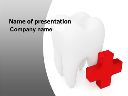 Stomatology Emergency Help Presentation Template, Master Slide