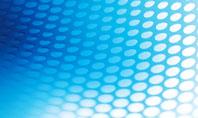 Blue Grid Background Presentation Template