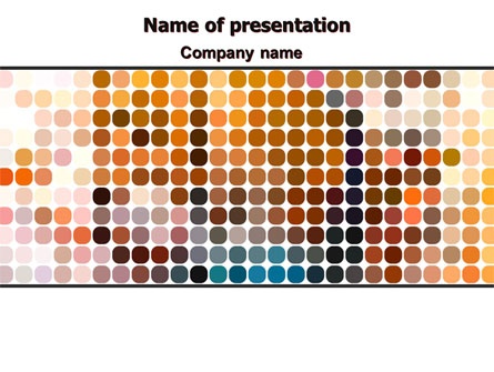 Color Palette Presentation Template for PowerPoint and ...