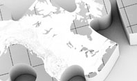 Continents As Puzzle Presentation Template