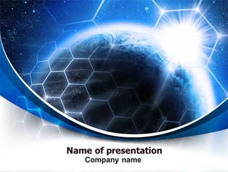 World telecom presentation template for powerpoint and keynote ppt world telecom presentation template master slide toneelgroepblik Image collections