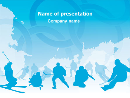 Winter Olympiad Presentation Template for PowerPoint and Keynote – Winter Powerpoint Template