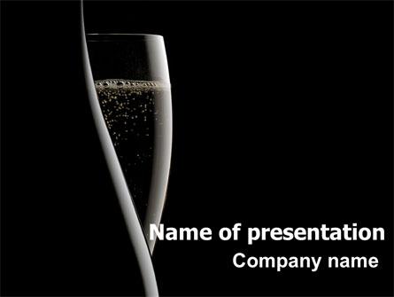 Dark Wine Presentation Template Master Slide