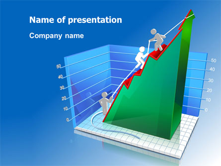 Rising rates 3d histogram presentation template for powerpoint and rising rates 3d histogram presentation template master slide ccuart Gallery