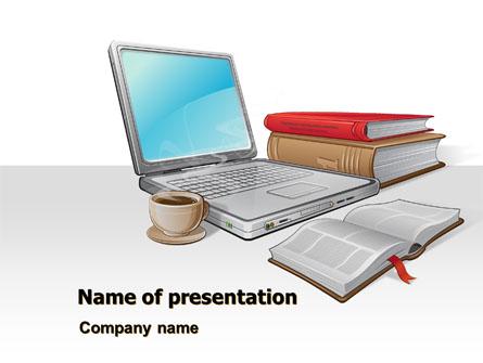 E-Learning Presentation Template, Master Slide