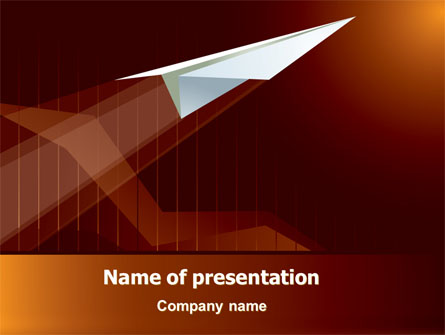 Flying Up Presentation Template For Powerpoint And Keynote Ppt Star