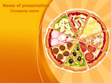 pizza presentation template for powerpoint and keynote ppt star