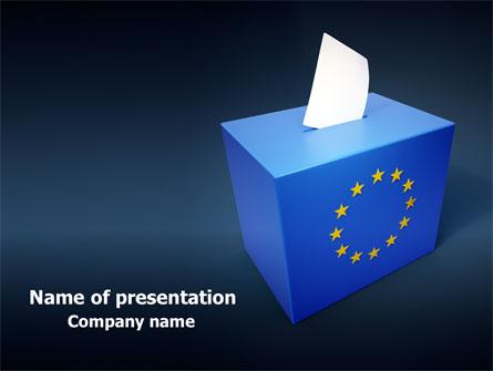 European union elections free presentation template for powerpoint european union elections free presentation template master slide toneelgroepblik Choice Image