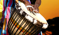 African Drum Presentation Template