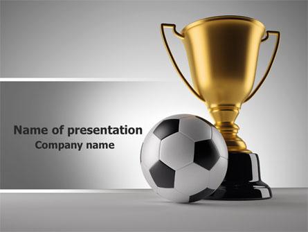 Football Cup Presentation Template, Master Slide