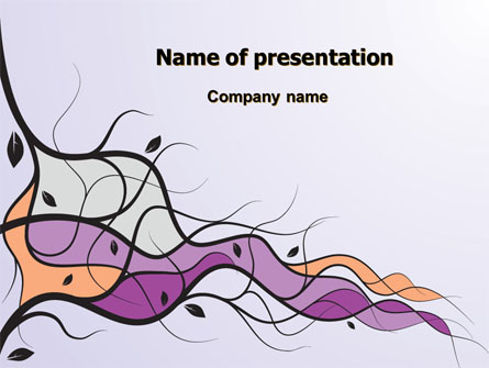 Wavy Branches Presentation Template for PowerPoint and Keynote | PPT