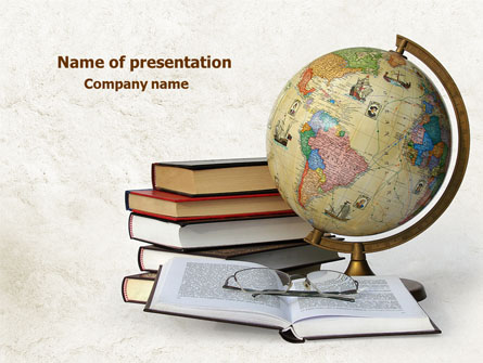 Study geography presentation template for powerpoint and keynote study geography presentation template master slide toneelgroepblik Images