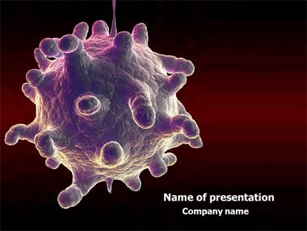 Bio virus presentation template for powerpoint and keynote ppt star bio virus presentation template master slide toneelgroepblik Image collections