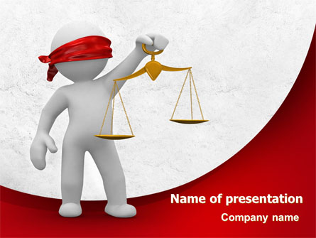 Justice Presentation Template For Powerpoint And Keynote