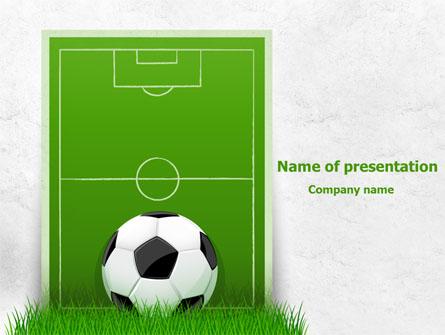 European Football Field Presentation Template for PowerPoint and – Football Powerpoint Template