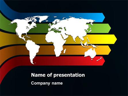World Consolidation Presentation Template, Master Slide
