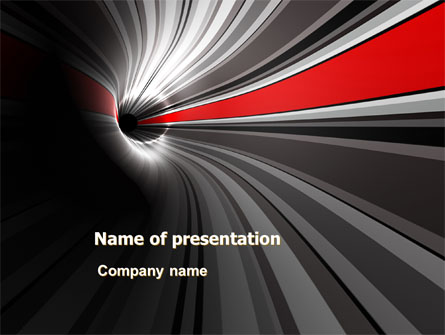 Time-Space Continuum Presentation Template, Master Slide