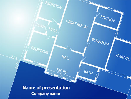 Room Layout Planning Presentation Template, Master Slide