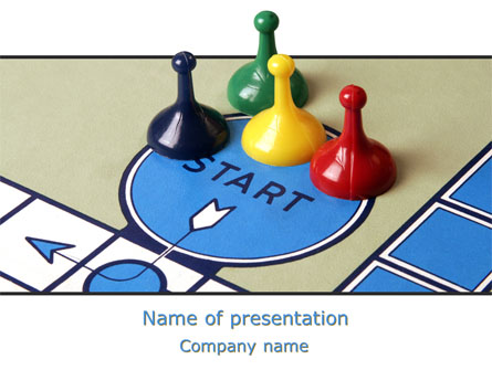 new board game presentation template for powerpoint and keynote, Powerpoint