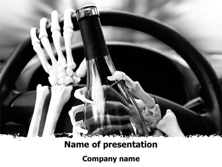 drunk driving presentation template for powerpoint and keynote ppt