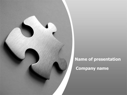 Steel jigsaw presentation template for powerpoint and keynote ppt star steel jigsaw presentation template master slide toneelgroepblik Choice Image