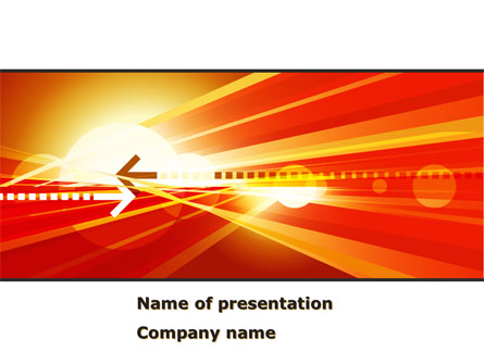 Red Theme Interactive Presentation Template for PowerPoint