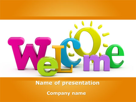 welcome presentation template for powerpoint and keynote ppt star. Black Bedroom Furniture Sets. Home Design Ideas