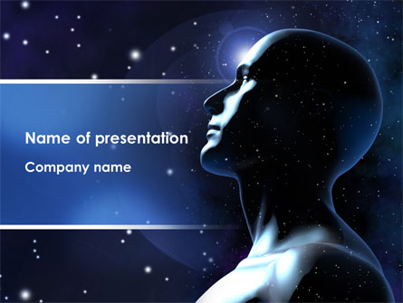 infinite universe presentation template for powerpoint and keynote