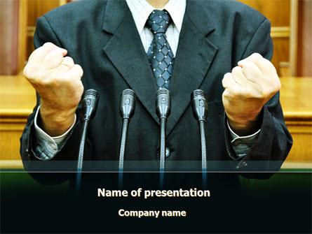 Eloquence Presentation Template, Master Slide