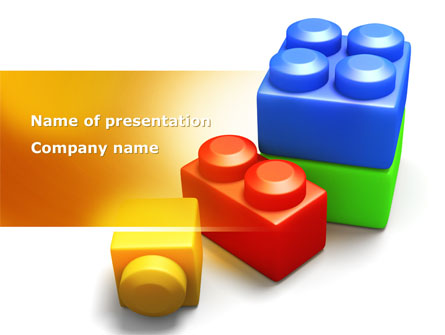 lego bricks presentation template for powerpoint and keynote ppt star