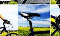 Summer Cyclist Tour Presentation Template