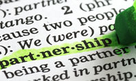 Definition Of Partnership Presentation Template